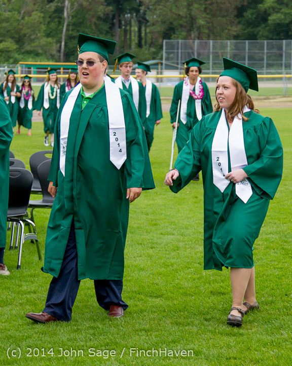 2986 Vashon Island High School Graduation 2014 061414