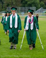 2988 Vashon Island High School Graduation 2014 061414