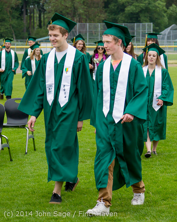 2993 Vashon Island High School Graduation 2014 061414