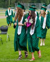 3001 Vashon Island High School Graduation 2014 061414