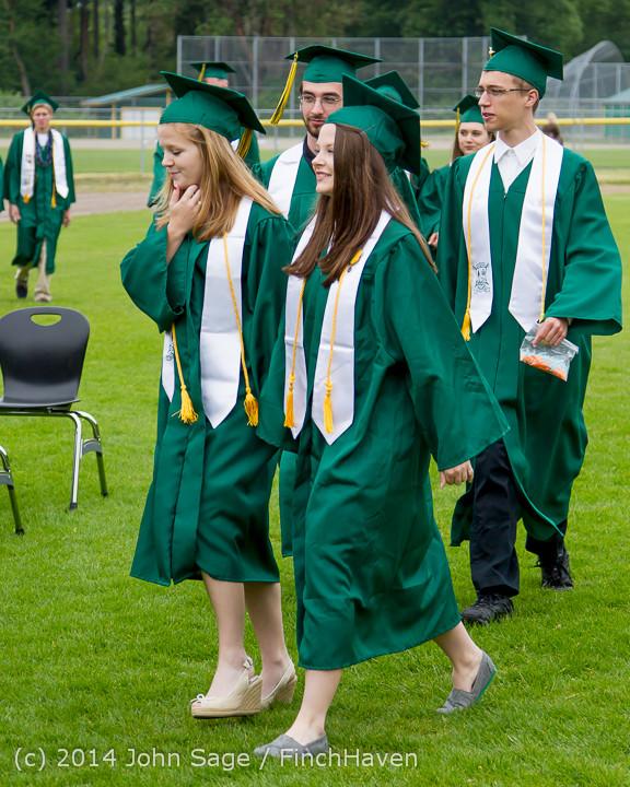 3004 Vashon Island High School Graduation 2014 061414