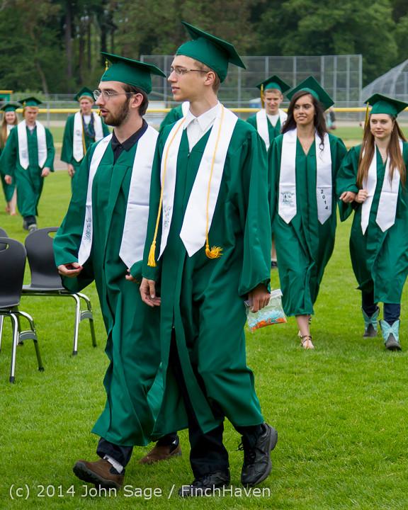 3006 Vashon Island High School Graduation 2014 061414