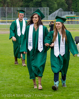 3007 Vashon Island High School Graduation 2014 061414