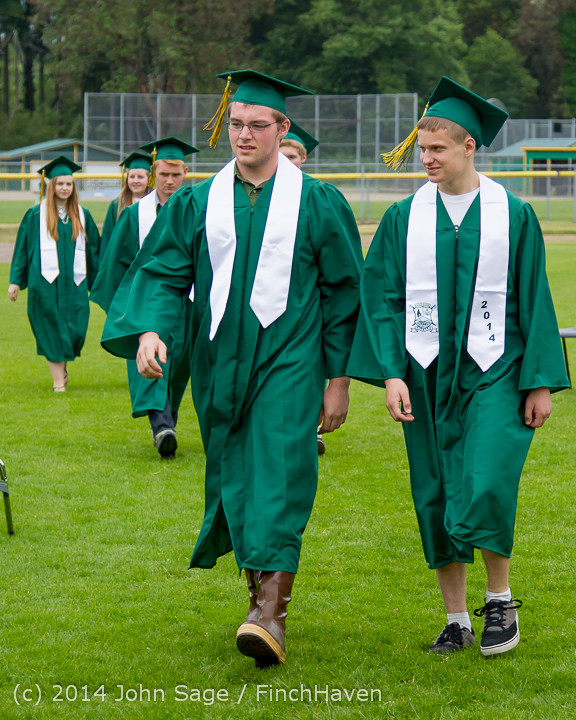 3011 Vashon Island High School Graduation 2014 061414