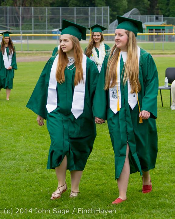 3017 Vashon Island High School Graduation 2014 061414