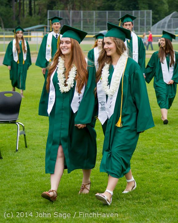 3021 Vashon Island High School Graduation 2014 061414