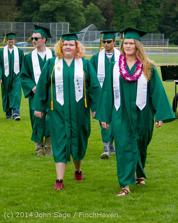3038 Vashon Island High School Graduation 2014 061414