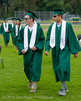 3041 Vashon Island High School Graduation 2014 061414