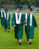 3052 Vashon Island High School Graduation 2014 061414