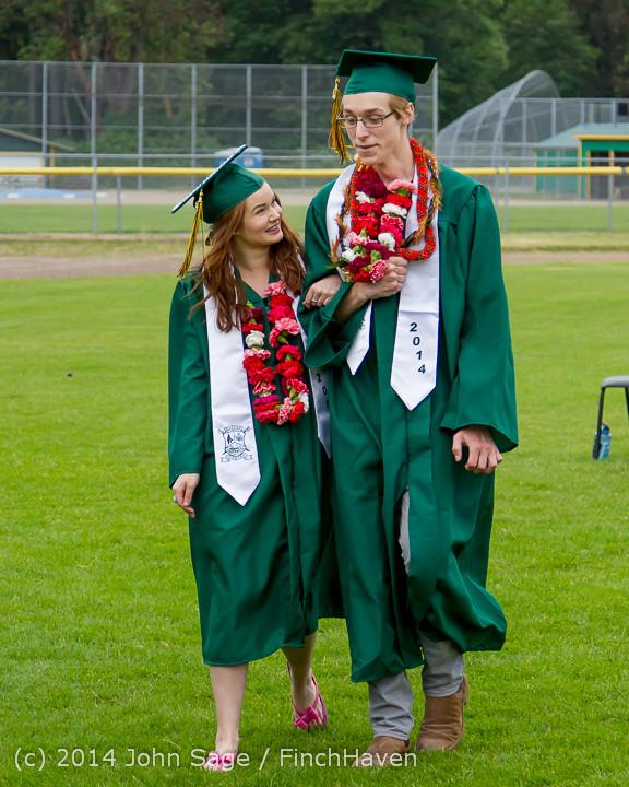 3071 Vashon Island High School Graduation 2014 061414
