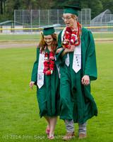 3072 Vashon Island High School Graduation 2014 061414
