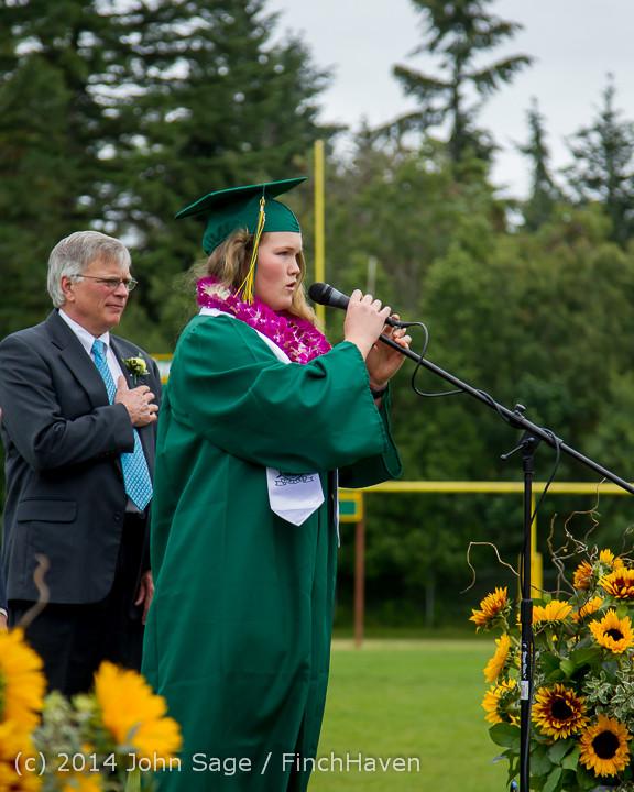 3086 Vashon Island High School Graduation 2014 061414