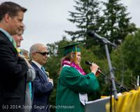 3090 Vashon Island High School Graduation 2014 061414