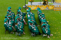 3106-a Vashon Island High School Graduation 2014 061414