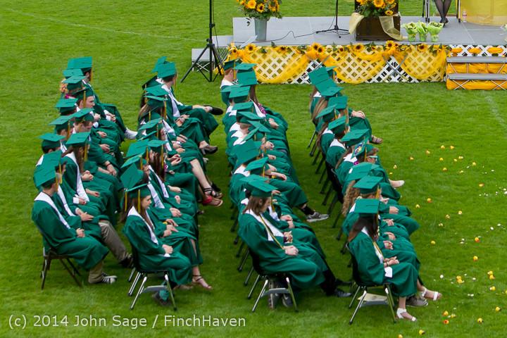 3106-a Vashon Island High School Graduation 2014 061414