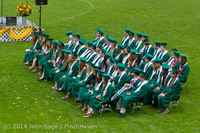 3107-a Vashon Island High School Graduation 2014 061414