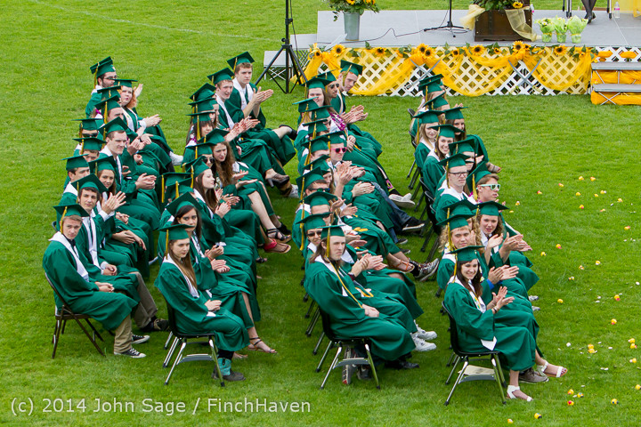 3114 Vashon Island High School Graduation 2014 061414