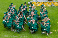 3124 Vashon Island High School Graduation 2014 061414