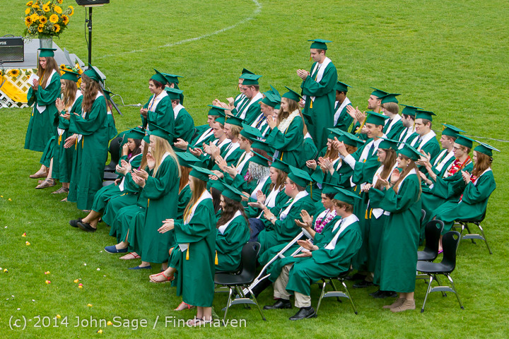 3185 Vashon Island High School Graduation 2014 061414