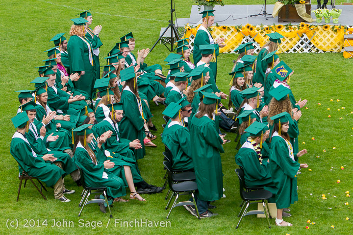 3186 Vashon Island High School Graduation 2014 061414
