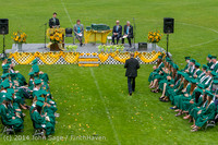 3250 Vashon Island High School Graduation 2014 061414