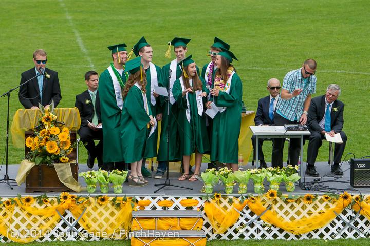 3307 Vashon Island High School Graduation 2014 061414