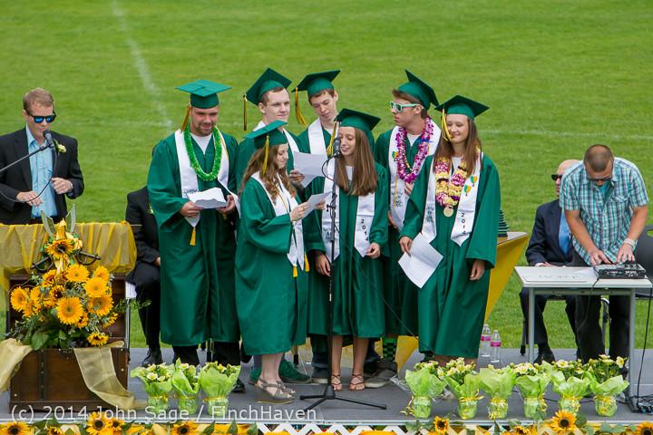 3318 Vashon Island High School Graduation 2014 061414