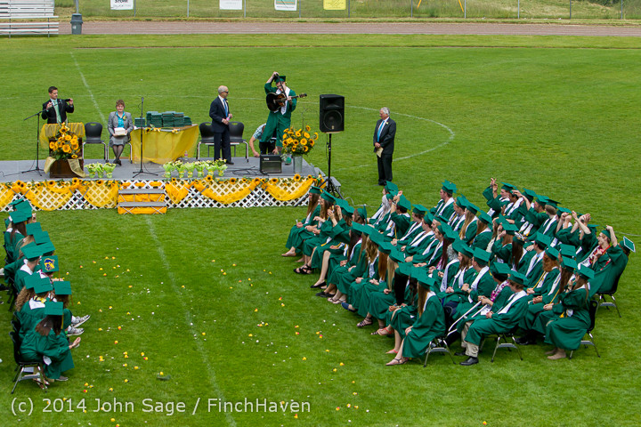 3383 Vashon Island High School Graduation 2014 061414