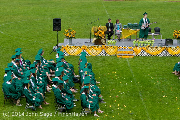 3425 Vashon Island High School Graduation 2014 061414
