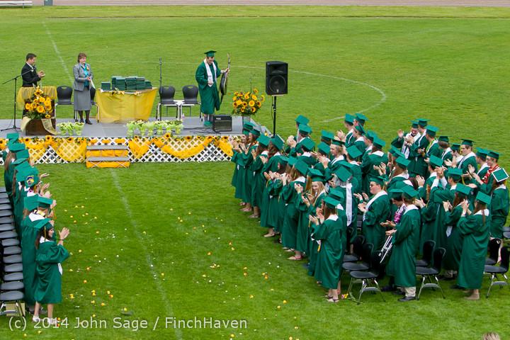 3442 Vashon Island High School Graduation 2014 061414