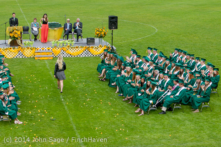 3458 Vashon Island High School Graduation 2014 061414