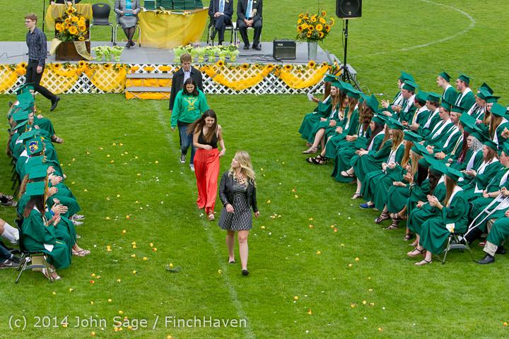 3496 Vashon Island High School Graduation 2014 061414