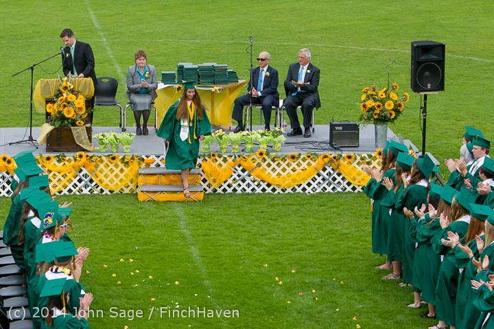 3557 Vashon Island High School Graduation 2014 061414