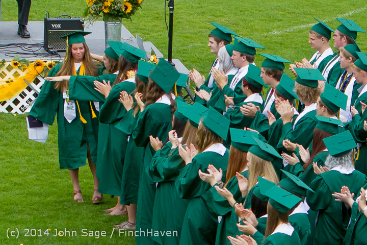3561 Vashon Island High School Graduation 2014 061414