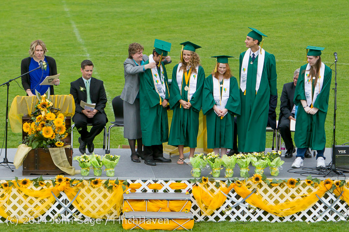 3625 Vashon Island High School Graduation 2014 061414