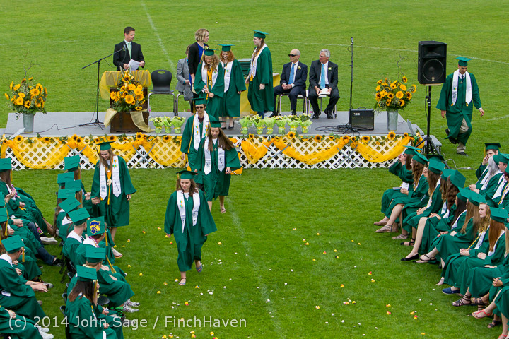 3673 Vashon Island High School Graduation 2014 061414