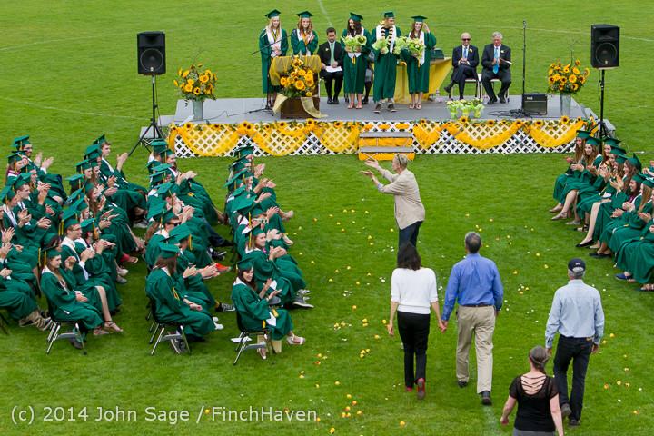 3692 Vashon Island High School Graduation 2014 061414