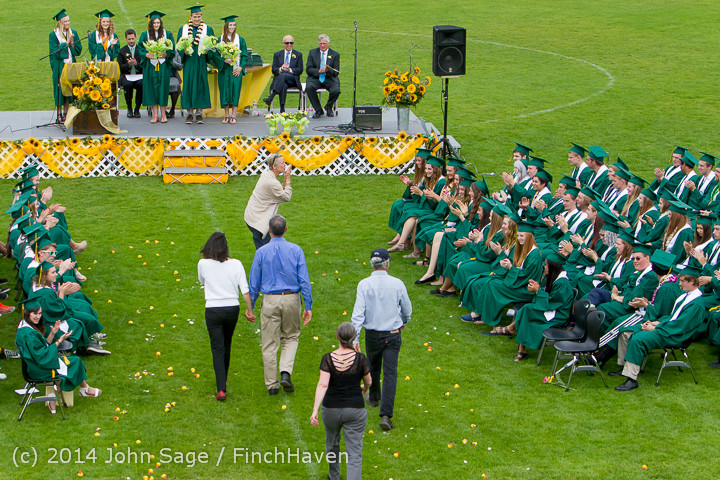 3694 Vashon Island High School Graduation 2014 061414