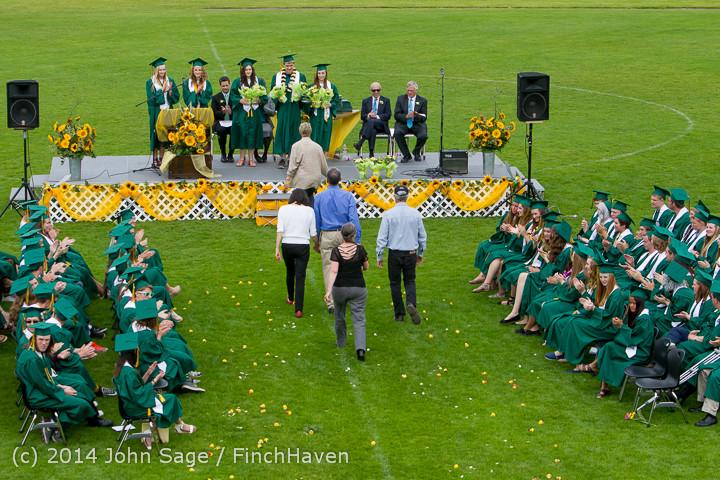 3698 Vashon Island High School Graduation 2014 061414