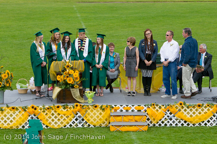 3724 Vashon Island High School Graduation 2014 061414
