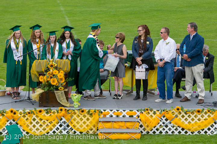 3768 Vashon Island High School Graduation 2014 061414