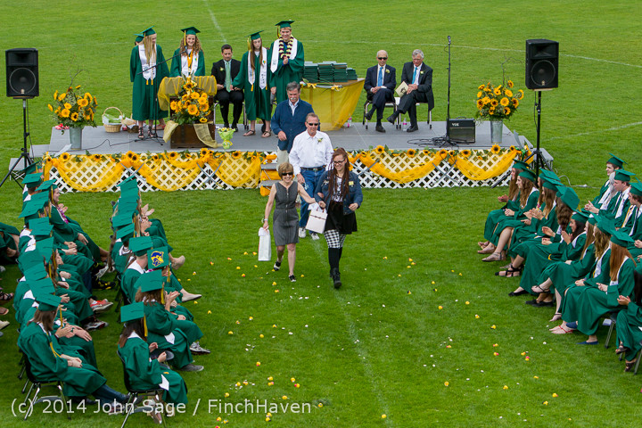 3816 Vashon Island High School Graduation 2014 061414