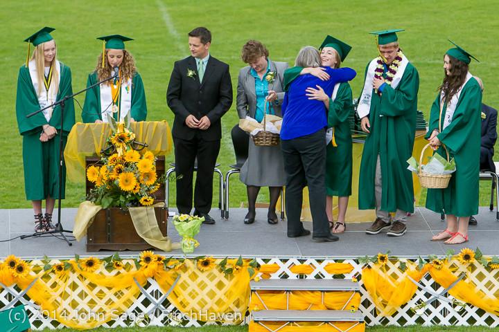 3857 Vashon Island High School Graduation 2014 061414