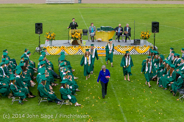 3895 Vashon Island High School Graduation 2014 061414