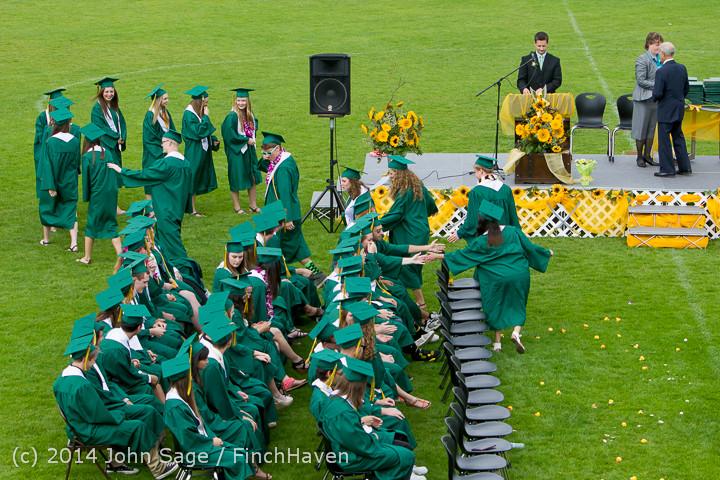 3905 Vashon Island High School Graduation 2014 061414
