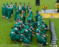 3907 Vashon Island High School Graduation 2014 061414