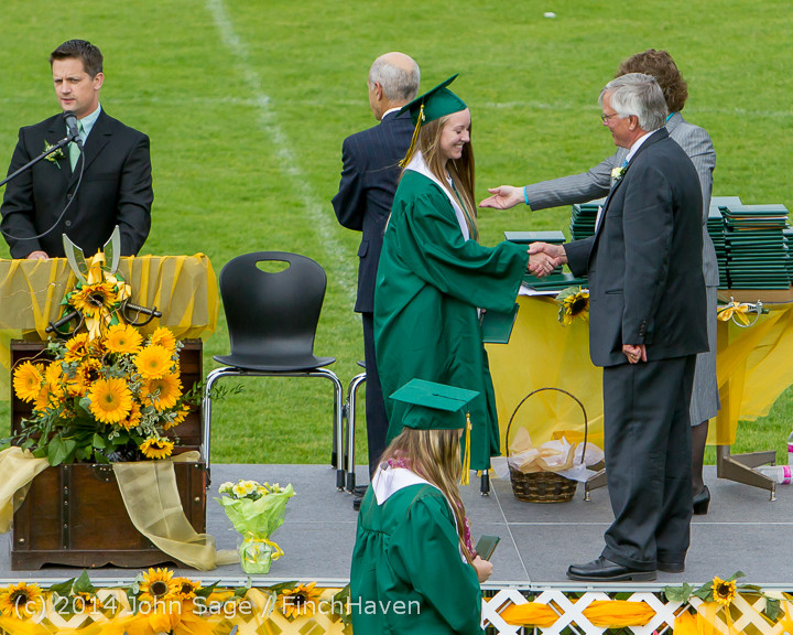 3926 Vashon Island High School Graduation 2014 061414