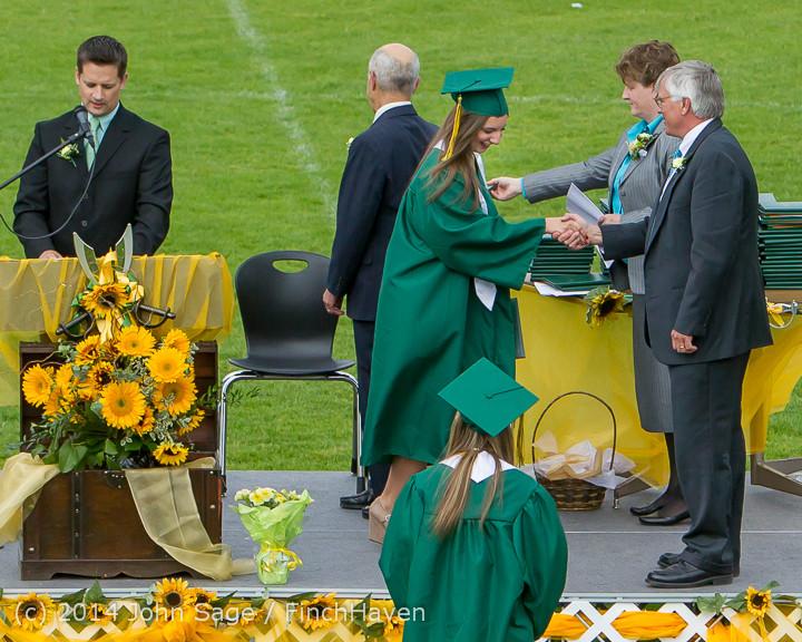 3942 Vashon Island High School Graduation 2014 061414