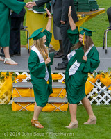 3949 Vashon Island High School Graduation 2014 061414