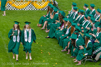 3965 Vashon Island High School Graduation 2014 061414